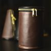 Large Leather Mute Boot
